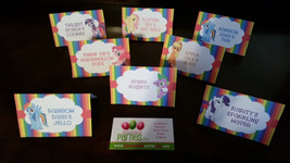 My little pony food tents - $3.00