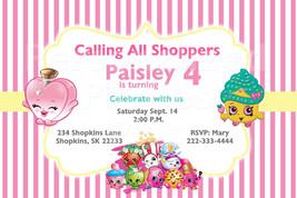 Shopkins Invitation | Shopkins birthday invitations - $8.99