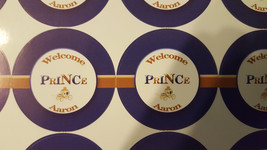 Royal Prince cup labels | Prince favor tags - $7.50