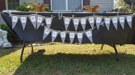 Black striped banner   Black and gold banner - $12.50