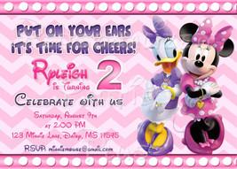 Minnie Mouse Birthday Invitation - $8.99