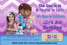 Doc McStuffin Birthday Party Invitations that are Personalized - $14.99