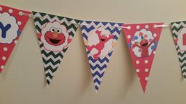 Elmo birthday banner - $12.50