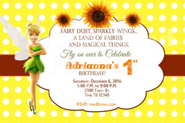 Tinkerbell birthday invitations - $8.99