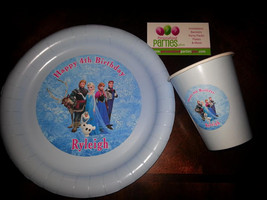 Frozen plates and cups | Frozen birthday plates - $49.99