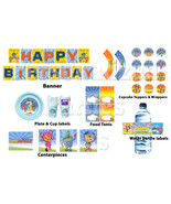 Team Umizoomi birthday party kit: DIGITAL banner, cupcake toppers & wrap... - $12.95