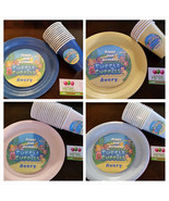 Bubble Guppies plates & cups - $34.99