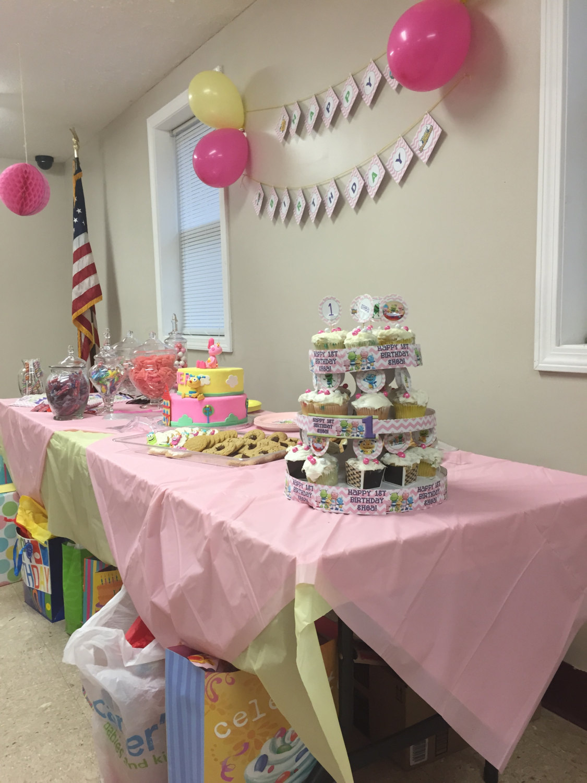 Pink Henry Hugglemonster cupcake toppers image 2