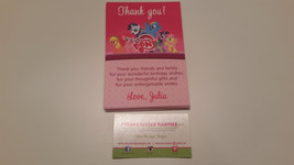 My little pony thank you cards | thank you card | My Little Pony - $4.99