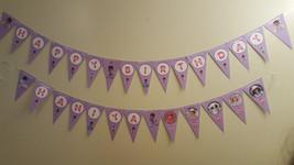 Doc McStuffins banner   Doc Mcstuffins birthday banner - $12.50