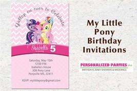 My little pony birthday party invitations - $8.99