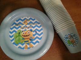 Henry Hugglemonster plates & cups - $49.99