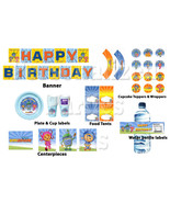 Team Umizoomi Instant Downloadable birthday party kit: banner, cupcake t... - $9.95