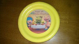 Henry Hugglemonster plate, cups and treat bag stickers - $5.00