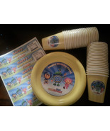 Team Umizoomi birthday party plates, cups and water bottle labels - $55.95