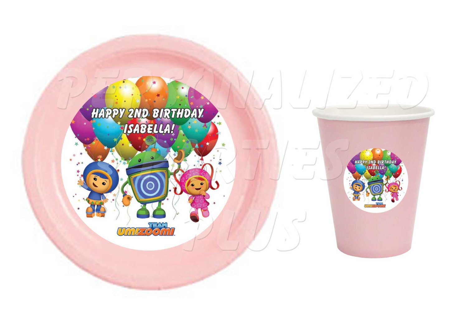 Team Umizoomi plate and cup label printables | Umizoomi plates | Umizoomi cups