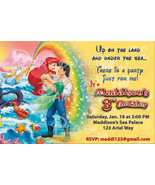 The Little Mermaid invitations in three different styles all have Prince... - $8.99