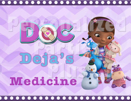 Doc McStuffins medicine sign: Downloadable & Printable - $4.00