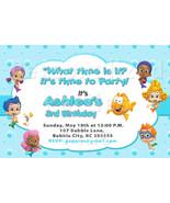 Bubble Guppies birthday invitations - $8.99