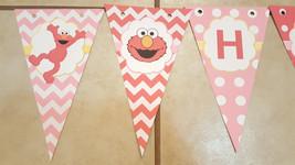 Elmo birthday banner   Elmore banner - $12.50