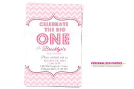 First birthday Invitations   Girls first birthday invitations - $8.99