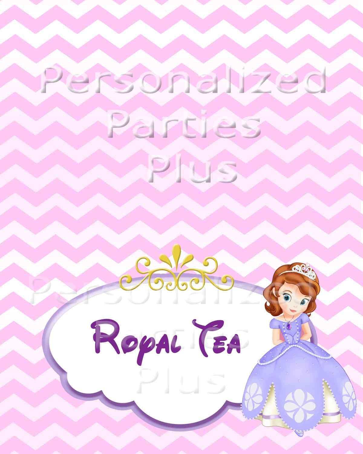 Sofia the First food tents