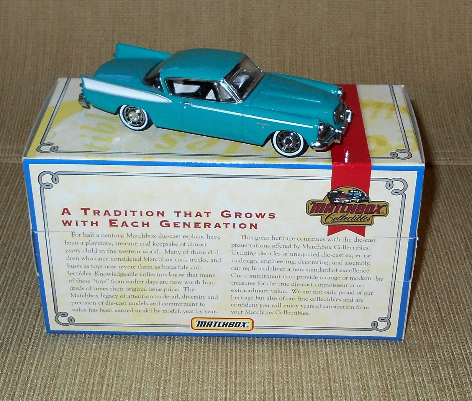 Matchbox Oldies But Goodies Collection (1996)- 1958 Studebaker Golden Hawk DYG03