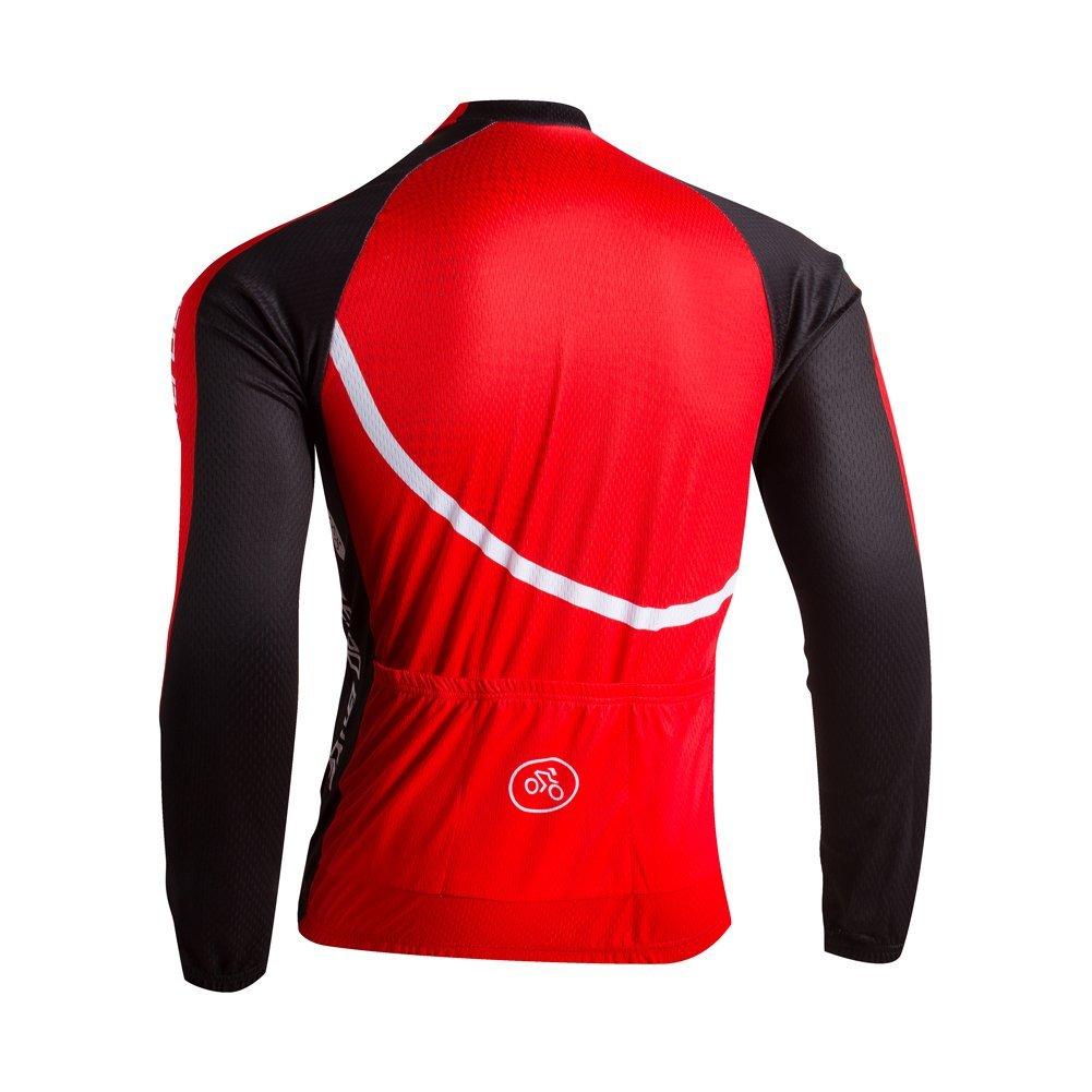 ZEROBIKE Men's Fleece Thermal Winter Long-Sleeve Jacket Winter Coat Sportswear
