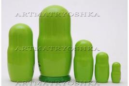 "Matryoshka nesting doll The smurfs Free worldwide shipping 4"" image 2"