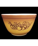 Pyrex 401 Fruit Harvest 1.5 Pt Mixing Bowl Corn... - $9.95