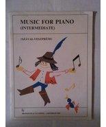 Music for Piano-Intermediate-Szavai-Veszpremi - $48.99