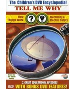 The Children's DVD Encyclopedia! Tell Me Why How Things Work, Electricit... - $9.80