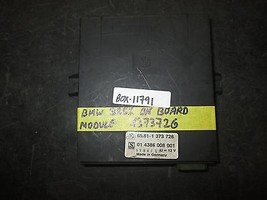 Bmw 325i On Board Module #1373726 *See Item* - $29.69