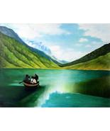 24x31 inch Acrylic Painting Original Hand Paint... - $140.00
