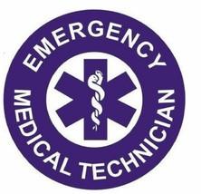 EMT Emergency medical Technician Hard Hat Decal Hardhat Sticker Helmet H153 - $1.79+
