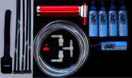 NOS Nitrous Oxide Injection gas Kart mini Bike racing N2O Boost Kit + 5 ... - $45.35