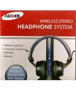 AUGEN WIRELESS STEREO HEADPHONE SYSTEM-FM RADIO - $24.99