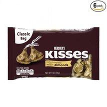 Hershey's Kisses/Almond - 25.01 lb - $167.82