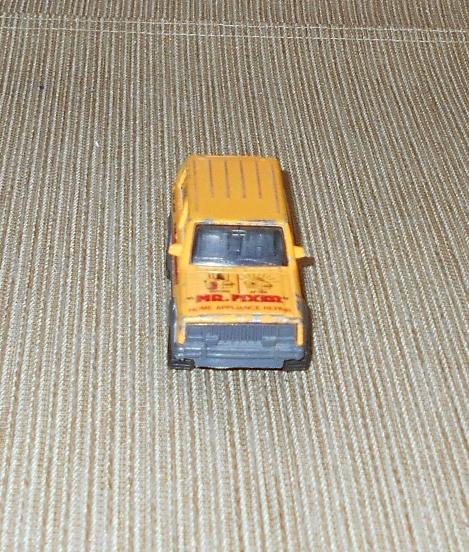 "Matchbox Jeep Cherokee ""Mr. Fixer"" Home Appliance Repair, Made in Macau, 1986"