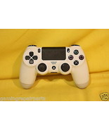 PlayStation 4 PS4 Dualshock 4 Wireless White Co... - $24.25