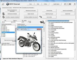 2013-2014-2015-2016 BMW F700GS ( F 700 GS ) RepROM Service Manual on a DVD - $15.00