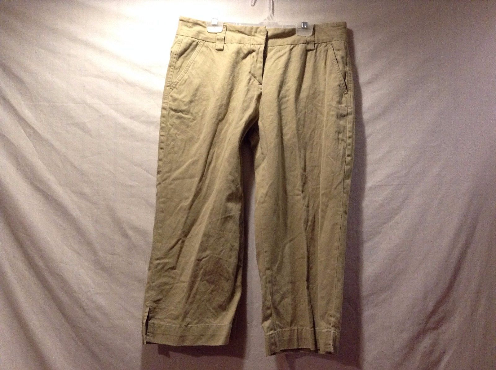 Great Condition Steve and Barry's Size 8 Favorite Fit 100% Cotton Beige Pants