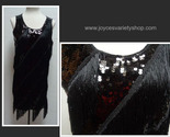 Black sequin flapper dress collage thumb155 crop