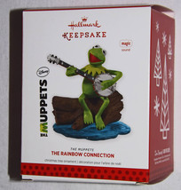 2013 Hallmark, Kermit the Frog, The Rainbow Connection Ornament, The Mup... - $74.95