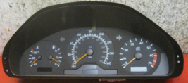 1997 Mercedes Benz C240 speedometer instrument cluster - 6 MONTH WARRANTY - $114.00