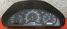 1999 Mercedes Benz C240 speedometer instrument cluster - 6 MONTH WARRANTY - $114.00
