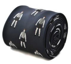noir et blanc à rayures FOOTBALLER Cravate hommes ft1802 comme Newcastle Club