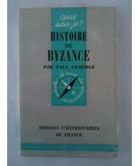 Histoire de Byzance [Mass Market Paperback] LEMERLE, Paul - $25.36