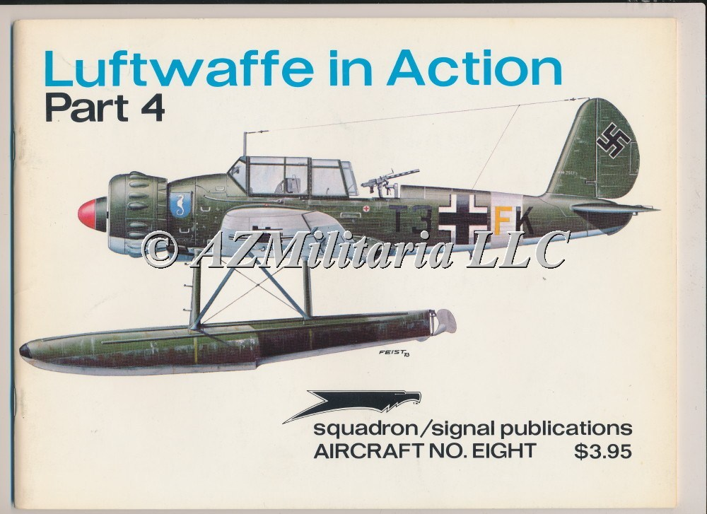 Luftwaffe In Action Part 4 Aircraft No.  8