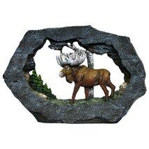 Regal Elites Vista Rock Series 9 Inch Long Wildlife Sculpture - MOOSE on... - $29.99